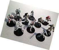 Star Wars Miniatures - 10 Assorted Stormtrooper Star Wars