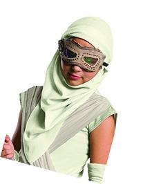 Rey Eye Mask and Hood Costume Accessory