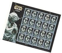 Star Wars Yoda Collectible Sheet of 20 X 41 Cent Stamps
