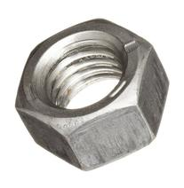 "Steel Hex Nut, Plain Finish, Grade 5, 5/8""-11 Threads, 1.083"