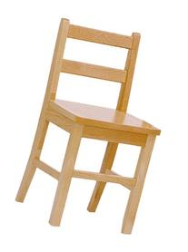 Steffy Wood Products 18-Inch Solid Maple Chair