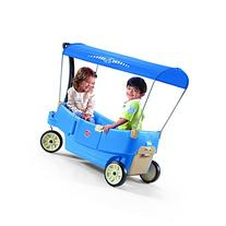 Step2 All Around Canopy Wagon, Blue