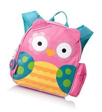 Stephen Joseph Mini Sidekick Backpack, Owl, One Size
