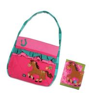 Stephen Joseph Quilted Horse Purse and Wallet for Little