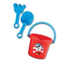 Stephen Joseph SAND BUCKET WITH TOYS PIRATE