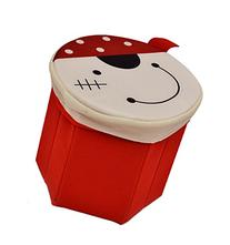 Storage Ottoman Collapsible Foldable Foot Rest Cartoon