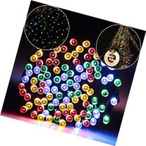 Solar Lights Outdoor 72ft 200 LED Fairy Lights, Ambiance