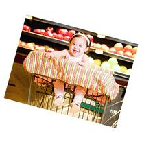 Grocery Cart / High Chair Cover Color: Coral / Green