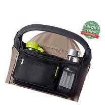 BEST STROLLER ORGANIZER for Smart Moms, Premium Deep Cup
