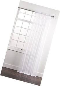 Stylemaster Elegance 60 by 108-Inch Sheer Voile Panel, White