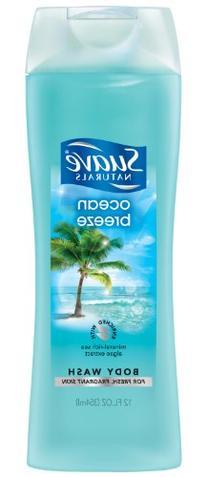 Suave Essentials Body Wash, Ocean Breeze 15 oz