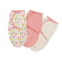 Summer Infant Swaddleme Cotton Knit 3 PK - Fun Fruits