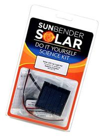 Sunbender Do-it-Yourself Solar LED Jar Light Kit - GREEN LED
