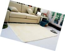 Super Soft Modern Shag Area Rugs Living Room Carpet Bedroom