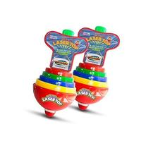 Super Sonic Laser Top Spinning Toy with Flashing Lights &