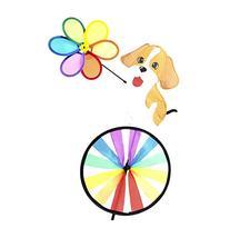 "Supreme Pinwheel - 32""Height 18""Width Dog Character Wind"