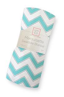 SwaddleDesigns Marquisette Swaddling Blanket, Premium Cotton