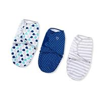 SwaddleMe Original Swaddle 3-PK, Teal Whales