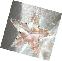Swarovski 50mm Aurora Borealis Crystal Star Prism