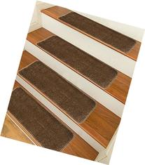 Sweethome Stores Non-Slip Shag Carpet Stair Treads, -14 Pack
