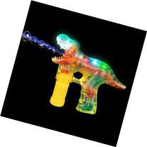 T-REX Led Bubble Blower Gun, Sound Bubble Saurus Dinosaur