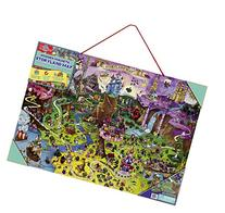 T.S. Shure Storyland Wooden Magnetic Map & Puzzle