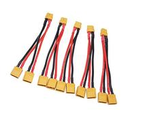 T-Trees 5 Pack of XT60 Parallel Battery Connector Cable
