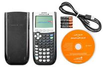 TEXAS TI-84PLUS GRAPHIC CALC W/FLASH SOFTWARE