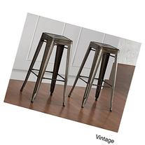 Tabouret Vintage Bronze 30-inch Bar Stools 9283182