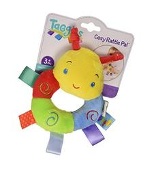 Taggies Cozy Plush Rattle Pal