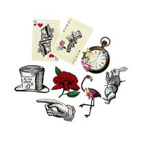 Talking Tables Truly Alice Party Prop Set for a Tea Party &