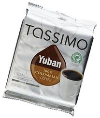 Tassimo Yuban 100% Colombian Coffee 14 T-Count