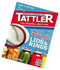 Tattler Home Products 1010-1 24 Piece, Regular Canning Lid