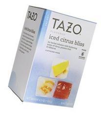 Tazo Herbal Iced Tea Citrus Bliss -- 6 Tea Bags