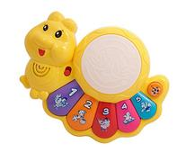 TECHEGE  Toys Learn'n'Play Caterpillar Piano Learn Numbers