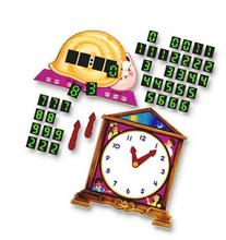 Telling Time Flannelboard Figures Flannelboard Lesson Set -