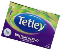 Tetley British Blend Premium Black, 80-Count Tea Bags, 7