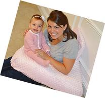 The 4 in 1 One Z PINK Nursing Pillow w/ AMAZING BACK SUPPORT