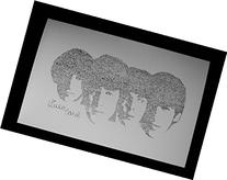 The Beatles Birthday Card with Envelope Drawn From Their