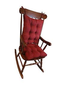 Klear Vu The Gripper Non-Slip Rocking Chair Cushion Set