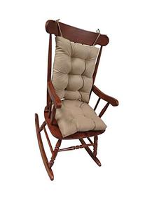 The Gripper Non-Slip Rocking Chair Cushion Set Honeycomb, X-