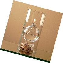 The Modern Transcend Clear Glass Oil Lamp Gift Set is a