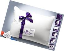 The Original Queen Anne Pillow - French Goose Down Luxury Pillow - Hotel Collection - Made in USA
