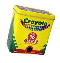 The Tin Box Company 181007-12 Crayola 2-Piece Storage Tin