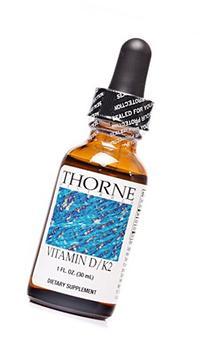 Thorne Research - Vitamin D/K2 Liquid - Dietary Supplement