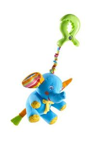 Tiny Love Tiny Smart Rattle, Blue Elephant