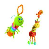 Tiny Love Tiny Smarts Jittering Activity, Jay + Giraffe set