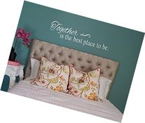 Together is the Best Place to Be - Inspirational Vinyl Wall
