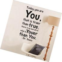 NYKKOLA Dr Seuss Today You Are You Wall Art Vinyl Decals