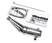 Traxxas 5487 T-Maxx Resonator Double Chamber Tuned Pipe